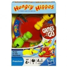 Hasbro Travel Hungry Hippos