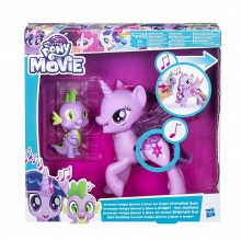 MY LITTLE PONY The Movie Princess Twilight Sparkle  and Spike the Dragon