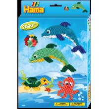 Hama Beads Dolphin Box set...