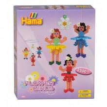 Hama Beads Flower Girls...
