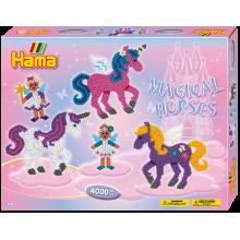 Hama Beads magical Horses 3138