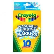Crayola 10 Washable Fine...
