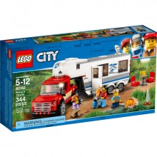 LEGO City Pickup & Caravan...