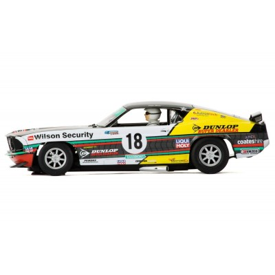 Scalextric 1969 Ford Mustang C3728 Boss 302 Clipsal 500 Shannons John Bowe Slot Car