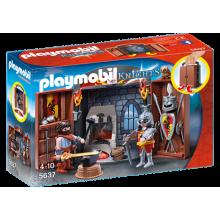Playmobil  Knights' Armoury...