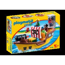 Playmobil 1.2.3 Pirate Ship...