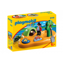 Playmobil 1.2.3 Pirate...