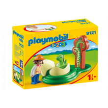 Playmobil 1.2.3 Girl with...