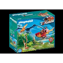 Playmobil  Adventure Copter...