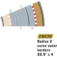 Scalextric Radius 2 Curve...