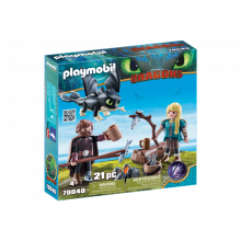 Playmobil Dragons Hiccup...