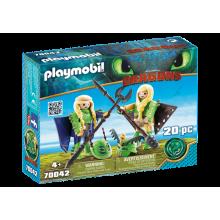 Playmobil Dragons Ruffnut...