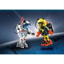 Playmobil Space Astronauts...