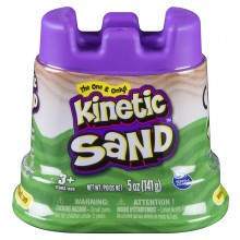 Kinetic Sand Tub Green (127g)