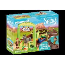 Playmobil Spirit Snips &...