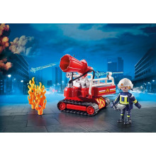 Playmobil Fire Water Cannon...