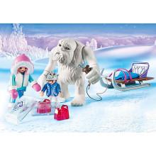 Playmobil Yeti with Sleigh...