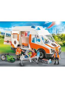 Playmobil Ambulance with...