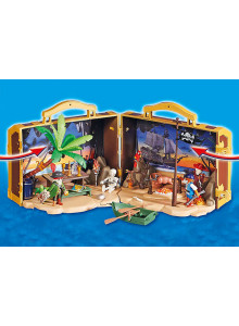 Playmobil Fairground Tin Can Shooting Game