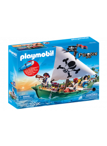 Playmobil Pirate Ship with...