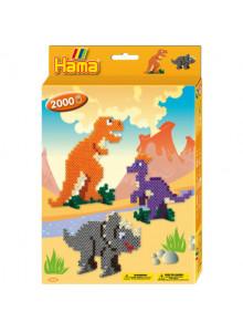 Hama Midi Dino World Set 3434