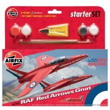 Airfix RAF Red Arrows Gnat...