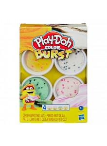 Play-Doh Colour Burst  4 Pack