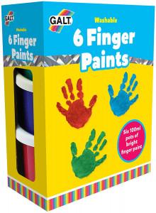 Galt 6 Finger Paints -...