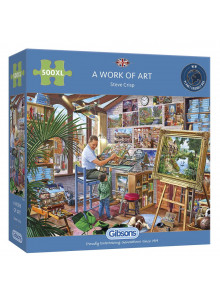 Gibsons A WORK OF ART 500PC...
