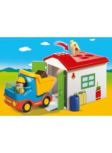 Playmobil 1.2.3 Dump Truck...