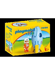 Playmobil 1.2.3 Astronaut...