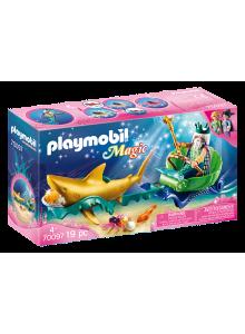Playmobil Mermaid King of...