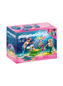 Playmobil Family with Shell...