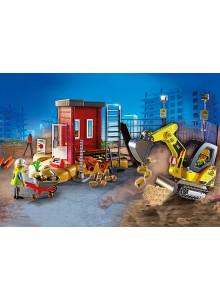 Playmobil  Mini Excavator...