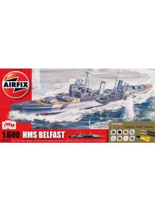 Airfix HMS Belfast Gift Set...