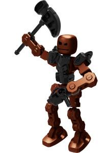 Klikbot figure Villain  Bash