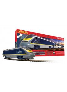 Hornby Eurostar Train Set...