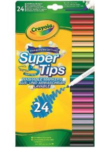 Crayola 24   Supertips...