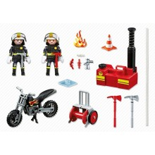 Playmobil Fire Fighter with...