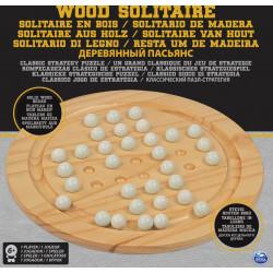 Wooden Solitaire Set