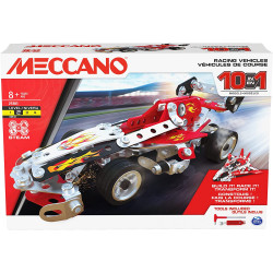 Meccano 10-in-1 Racing...
