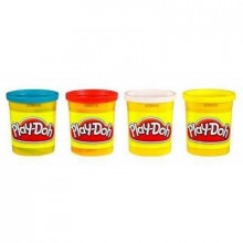 Play-Doh 4 Tubs of colour