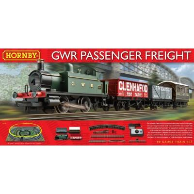Hornby GWR Passenger Freight Train Set - R1138