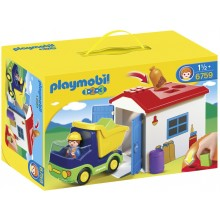 Playmobil  1.2.3 Truck with...