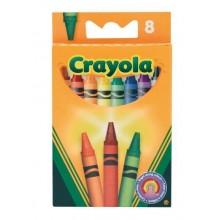 Crayola 8 asst Crayons