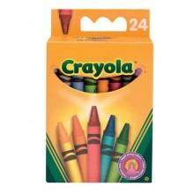 Crayola 24 asst Crayons