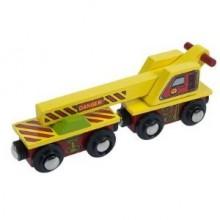Bigjigs Rail - Crane Wagon
