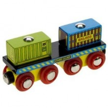 Bigjigs Rail - Container Wagon
