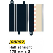 Scalextric Half Straight...