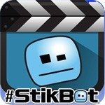 Create and share  your own stopmotion videos with Stikbot